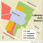 Lakeway Arts District Map