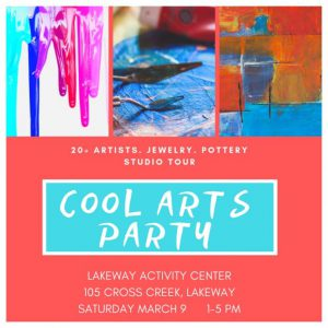 Cool Arts Party @ Lakeway Activity Center