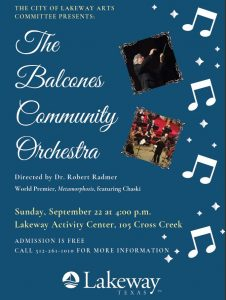 Balcones Orchestra Concert @ Lakeway Activity Center
