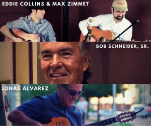 Eddie Collins and Max Zimmet Duo Concert @ Lake Travis Community Library