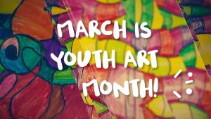 Youth Art Month Exhibition @ Lake Travis Community Library